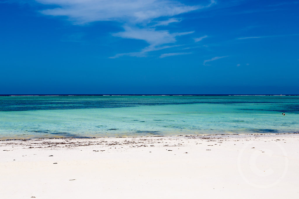 Beach on Sansibar