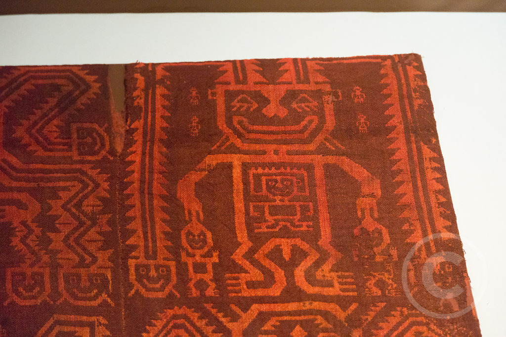 Inka carpet