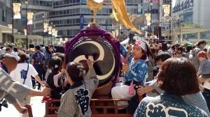 Festivitäten in Ikebukuro. (c) by Jörg  Neidig. Alle Rechte vorbehalten
