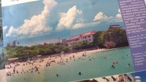 Abbildung des Strands von Naha aus dem offiziellen Flyer von Okinawa (http://visit-okinawa.com/)