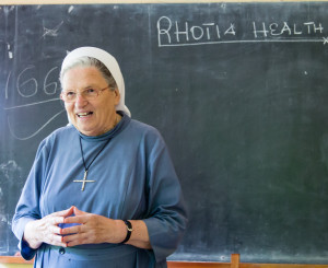 Schwester Agatha leitet das Rhotia Health Center in Tansania. Picture (c) by Jörg Neidig. All rights reserved.